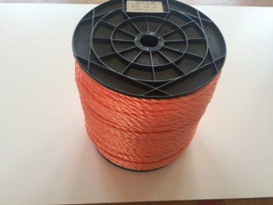 Kunststoffseil orange
